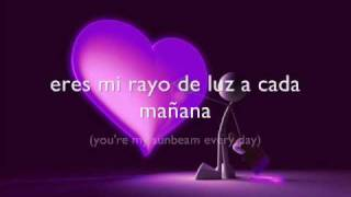Chayanne_Si no estàs conmigo con letra/lyrics (with english translation)