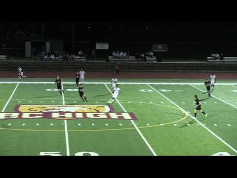 UMass Boston Men's Soccer vs. Emerson College (9/10/19) Highlights