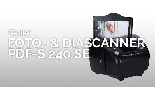 Der Rollei Foto- und Diascanner PDF-S 240 SE