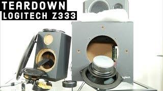 Look inside Logitech Z333 multimedia Speakers - Fake tweeters :(