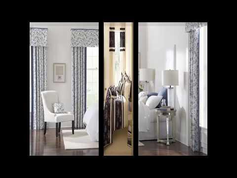 moderne schlafzimmer gardinen