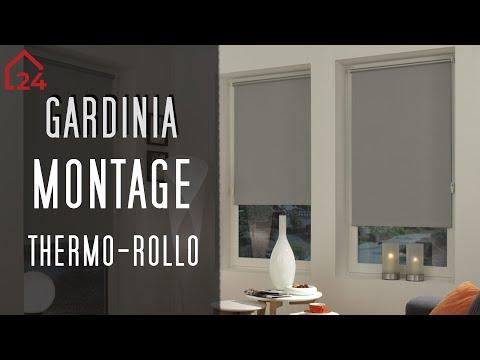 Gardinia Easyfix Thermo-Rollo 🔧 Montagevideo ⚙️Einfache Montage