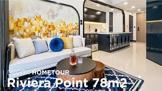 Phong cách Indochine tại The View Riviera Point trong căn hộ 78m2