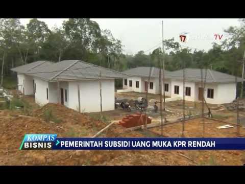 Pemerintah Subsidi Uang Muka KPR Rendah