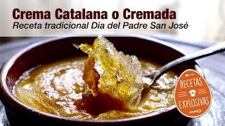 Crema Catalana - Crema Cremada - Fácil - Recetas Explosivas