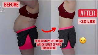 HOW I LOST 30 POUNDS IN QUARANTINE → CHLOE TING RESULTS → 3 Challenges →25 Day→28 Day→2 Week Shred