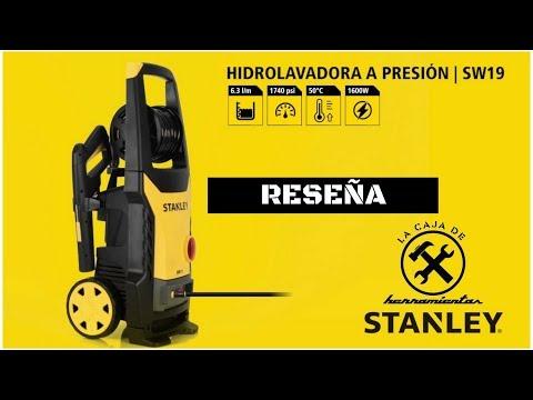 HIDROLAVADORA STANLEY SW19