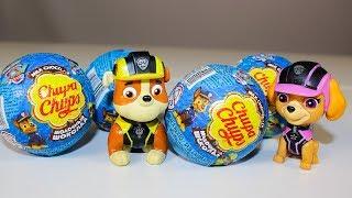 Щенячий патруль СЮРПРИЗЫ Чупа Чупс Игрушки Видео для детей Surprise eggs toys Paw Patrol