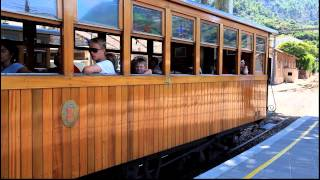 preview picture of video '[FS] Soller Railway and tram / Железная дорога и трамвай Сольер'
