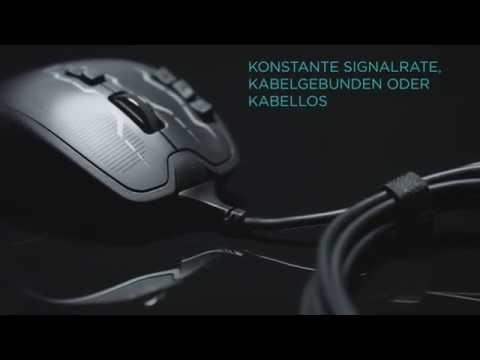 Logitech G700s Gaming Lasermaus schnurlos Test / Review