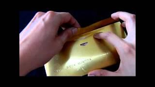 Indian Wedding Gift - Golden foil envelope for putting gifting money