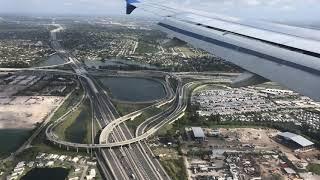 Landing in Fort Lauderdale FL