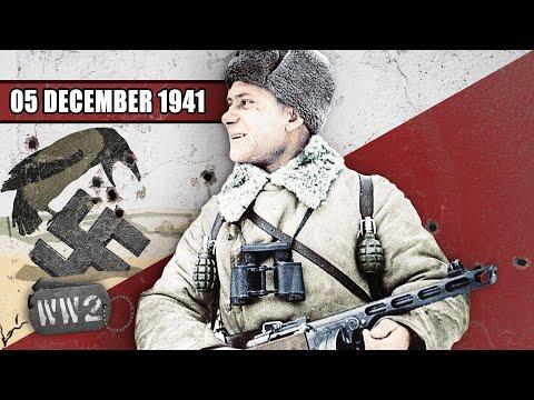 Sověti zastavili Němce před Moskvou a japonská válka s USA je na spadnutí