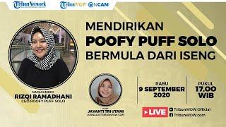 Cerita Rizqi Ramadhani Dirikan Poofy Puff Solo, Bermula dari Iseng sampai Dikenal Banyak Orang