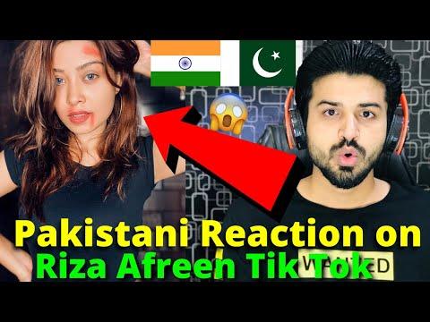Pakistani React on Riza Afreen Latest TIKTOK VIDEOS 2021 | Indian TikToker | Reaction Vlogger