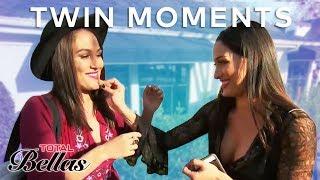 Most Relatable Brie & Nikki Bella Twin Moments | Total Bellas | E!