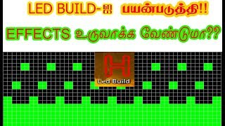 Download HOW TO MAKE EFFECTS SWF USING LED BUILD !! SOFTWARE