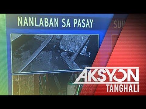 [News5]  Drug suspect sa Pasay, patay matapos manlaban