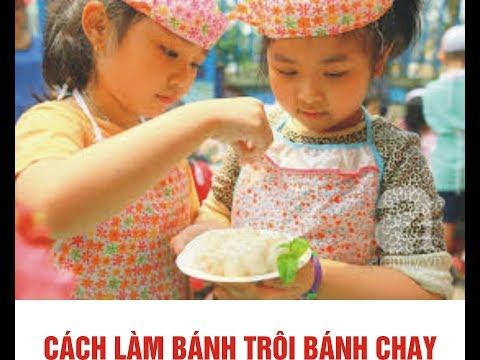 Hướng dẫn trẻ làm bánh trôi nước