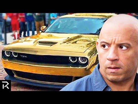 How Vin Diesel Spent A Quarter Billion Dollars!