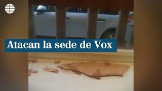 Atacan la sede de Vox en Madrid