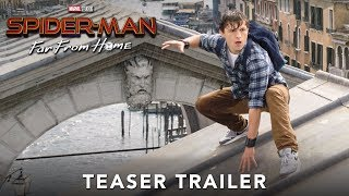 Video thumbnail for SPIDER-MAN: FAR FROM HOME <br/> Official Teaser Trailer
