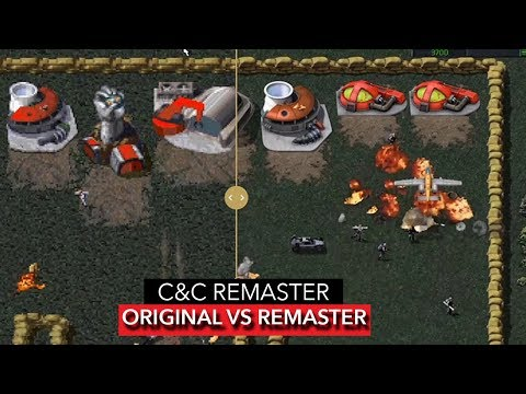 COMMAND AND CONQUER REMASTER - SIDE BY SIDE COMPARISON | FIRST Tease of Gameplay [2019]