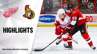 NHL Highlights | Red Wings @ Senators 2/29/20
