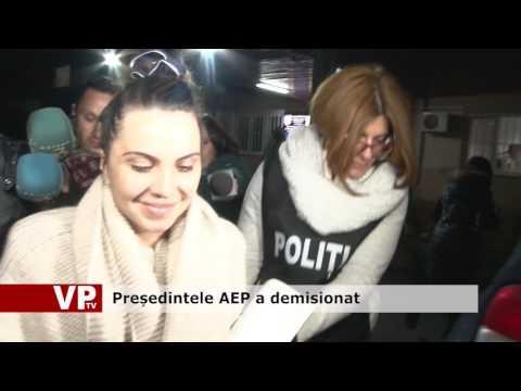 Președintele AEP a demisionat