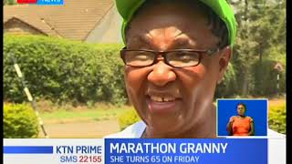 Marathon granny: 64 year old runs charity marathons