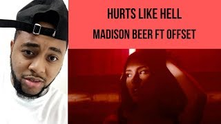 Madison Beer   Ft Offset    Hurts Like Hell   (REACTION)   Elijah Smooth
