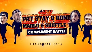 KOTD - Compliment Rap Battle - Pat Stay & Rone Vs Marlo & Shuffle T