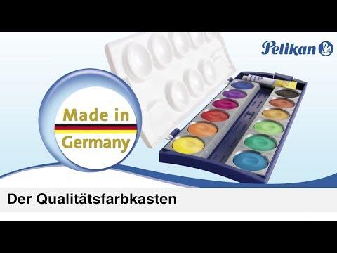 Deckfarbkasten K von Pelikan für kreatives Malen