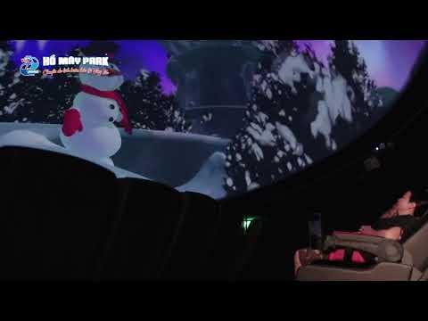 Trải nghiệm Rạp chiếu phim 7D Fulldome - Hồ Mây Park