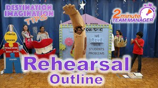 Rehearsal Outline