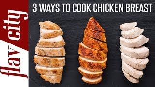 What to cook a chicken breast at