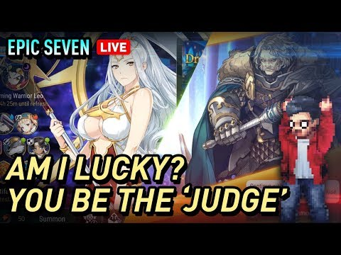 [Epic Seven]Judge Kise Mystic Summons & Covenant Summons for Aux Lots