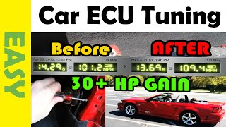 Add up to 30 Horsepower to Mustang with ECU Tuning AFTER MODS