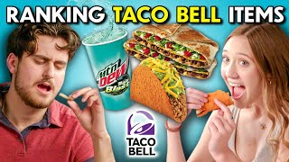 Chalupa vs. Crunch Wrap Supreme | Best Taco Bell Items Ranked