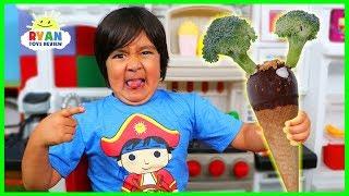 Do You Like Broccoli Ice Cream Song ?? Kids Nursery Rhymes with Ryan!