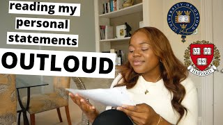 how to write an AMAZING personal statement for ANY university application.