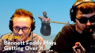 Bennett Foddy Plays Getting Over It With Bennett Foddy