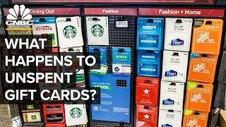 What Happens To Unspent Gift Cards?