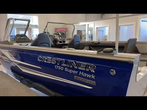 Crestliner 1750 Super Hawk video