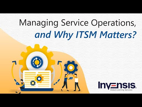 Service Operations Management Tutorial and Why ITSM (IT Service ...