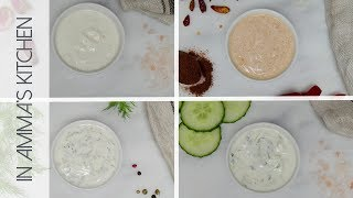 4 Easy & Quick Greek Yogurt Dip Sauce Recipes