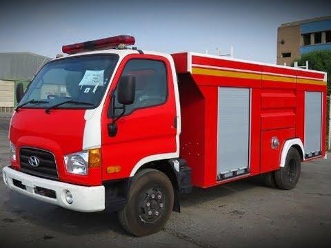 Xe chữa cháy 4 khối hyundai 110S 3,5 khối nước 500l bọt