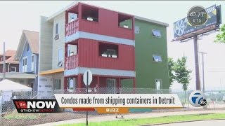 Condos made from shipping containers