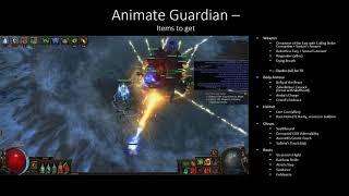3.3 Vaal Summon Skeleton + Spectres/Flame Golems Necromancer - My Flexible League Starter