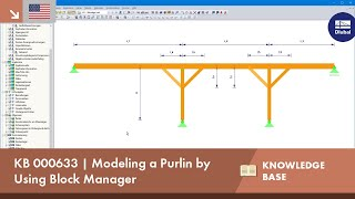 KB 000633 | Modeling a Purlin by Using Block Manager